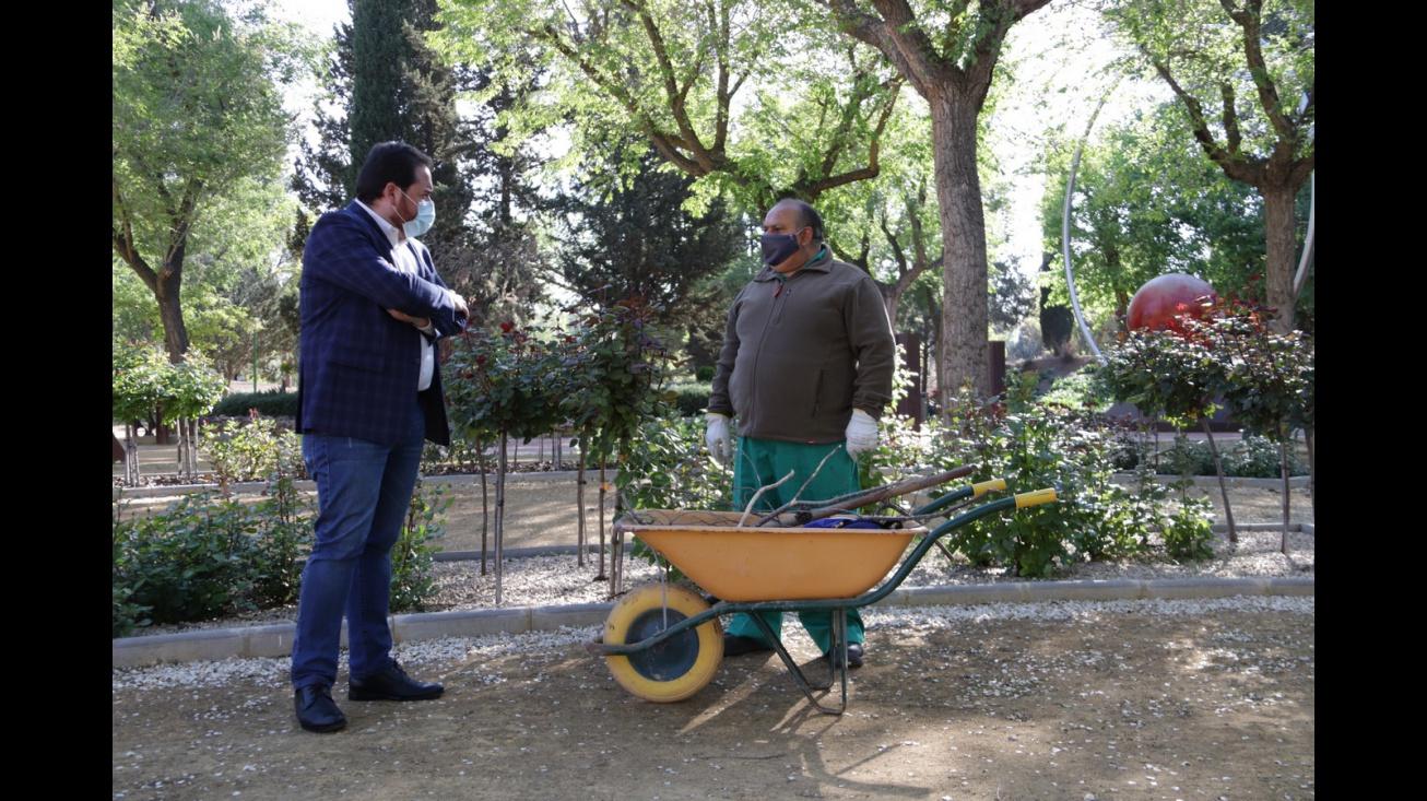 Plan de empleo de la Diputación de CR que el Ayuntamiento ha destinado a personas mayores de 50 años