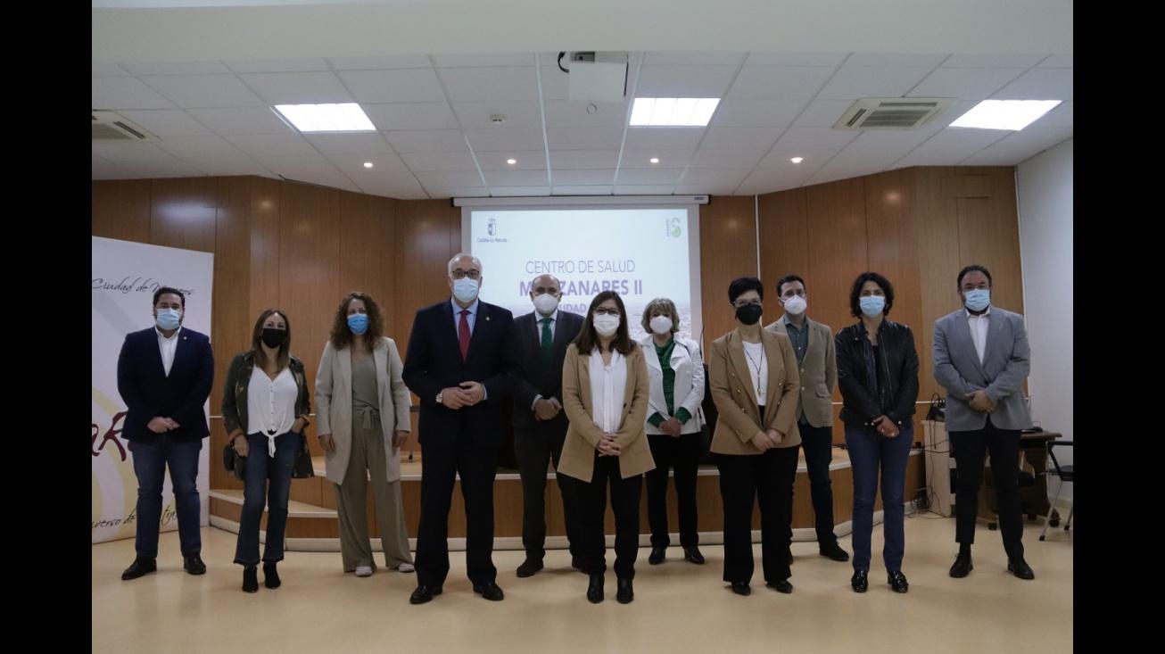 Presentación del plan funcional del Centro de Salud Manzanares II