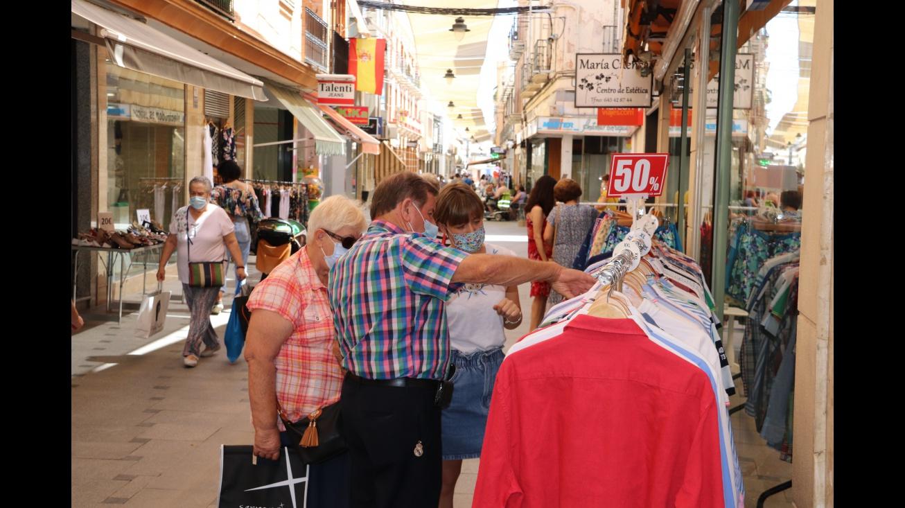 Imagen de archivo en la calle Empedrada