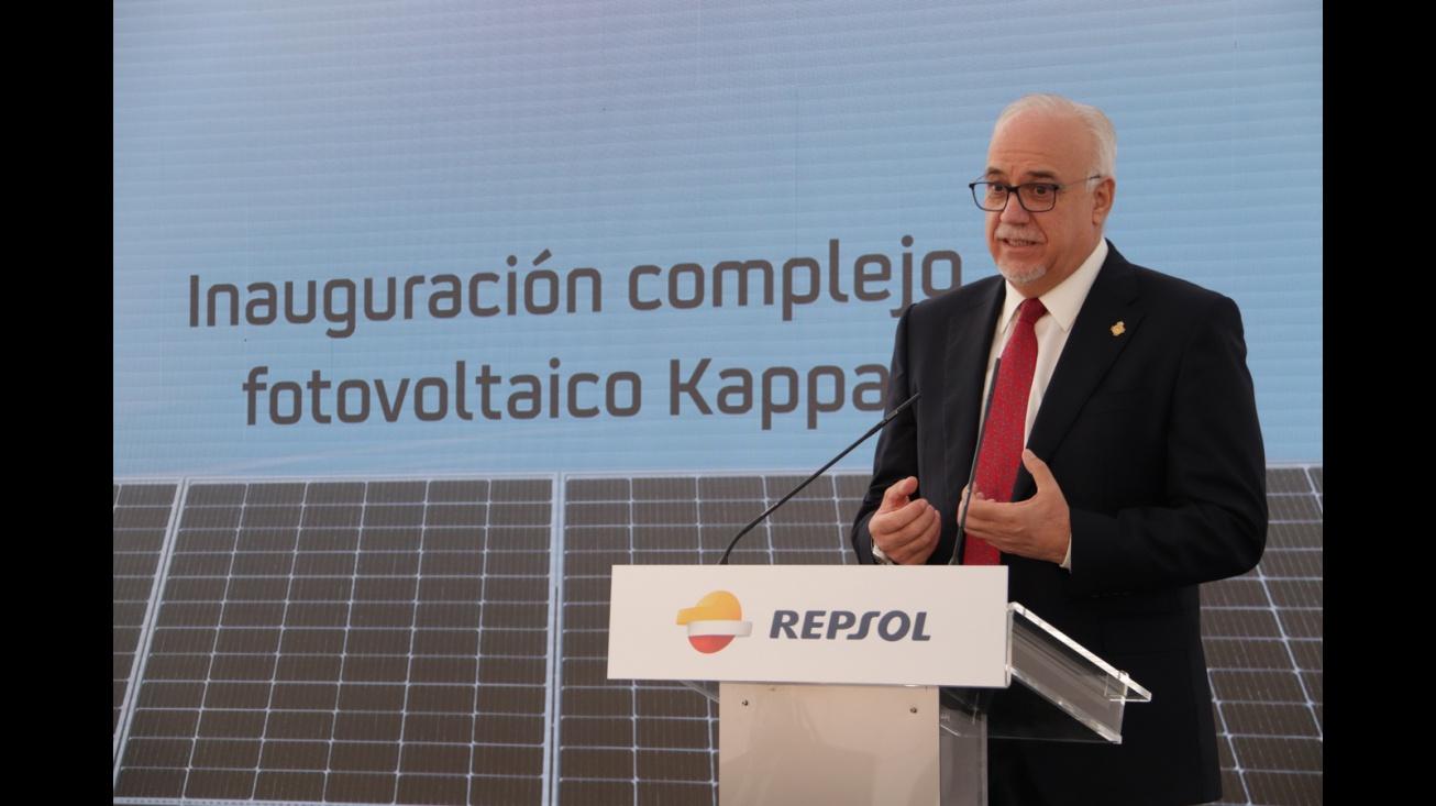 Inauguración del complejo fotovoltaico Kappa (Repsol) en Manzanares