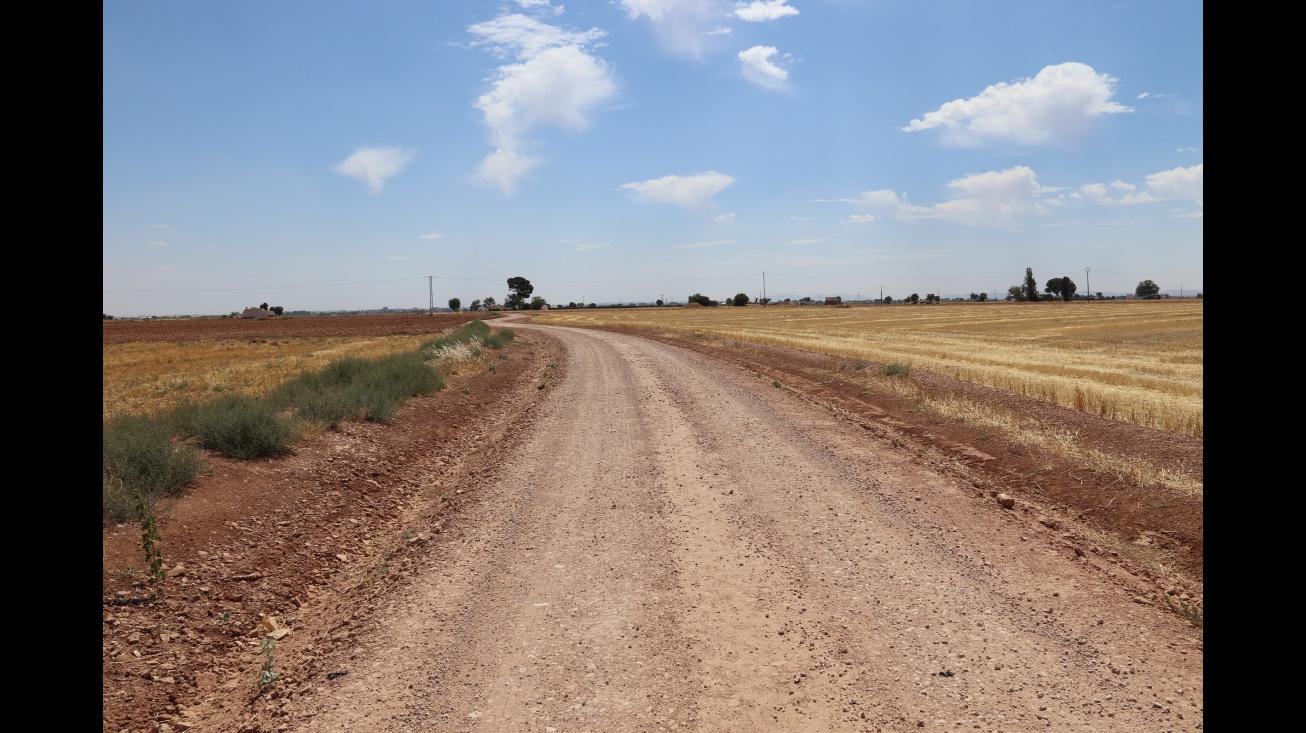 Camino del término municipal de Manzanares