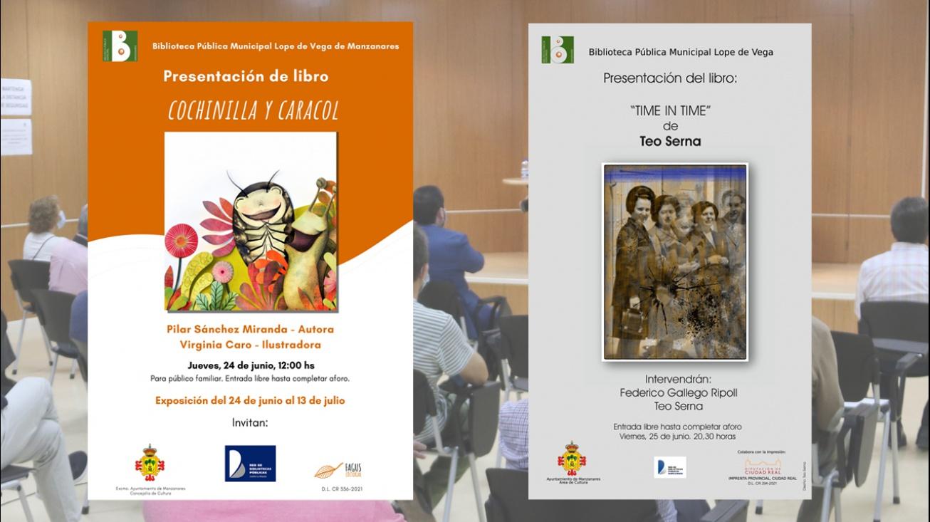 Presentación de los libros 'Cochinilla y caracol' y 'Time in time'