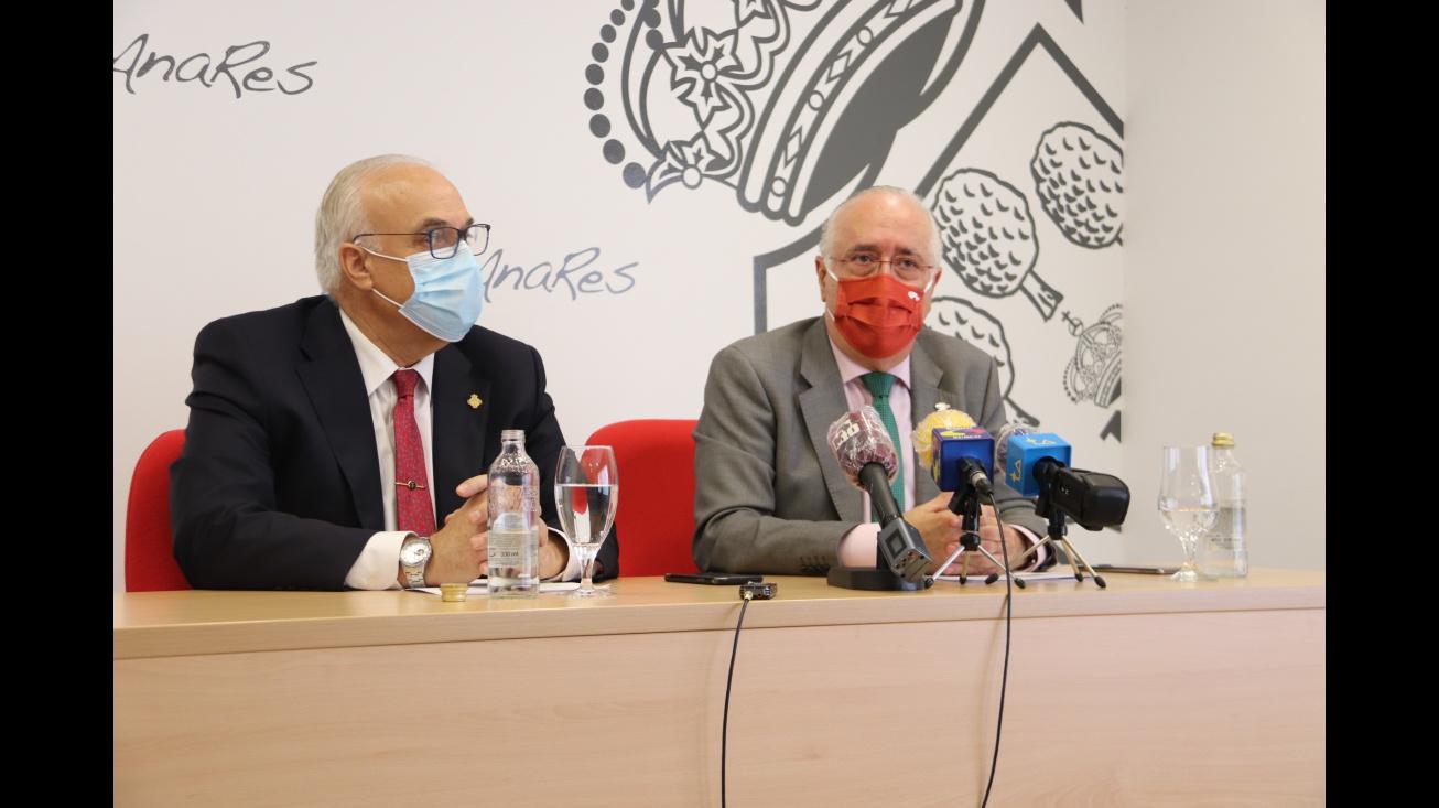 Julián Nieva y Francisco Pérez durante su comparecencia