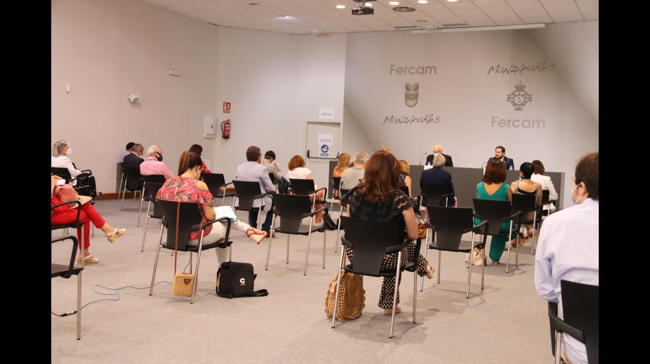 Presentación de Fercam virtual ante numerosos medios de comunicación