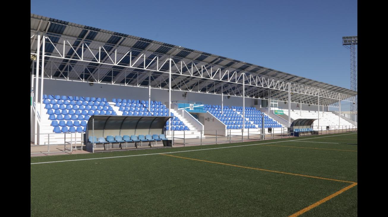 Nuevos asientos del campo 'José Camacho'