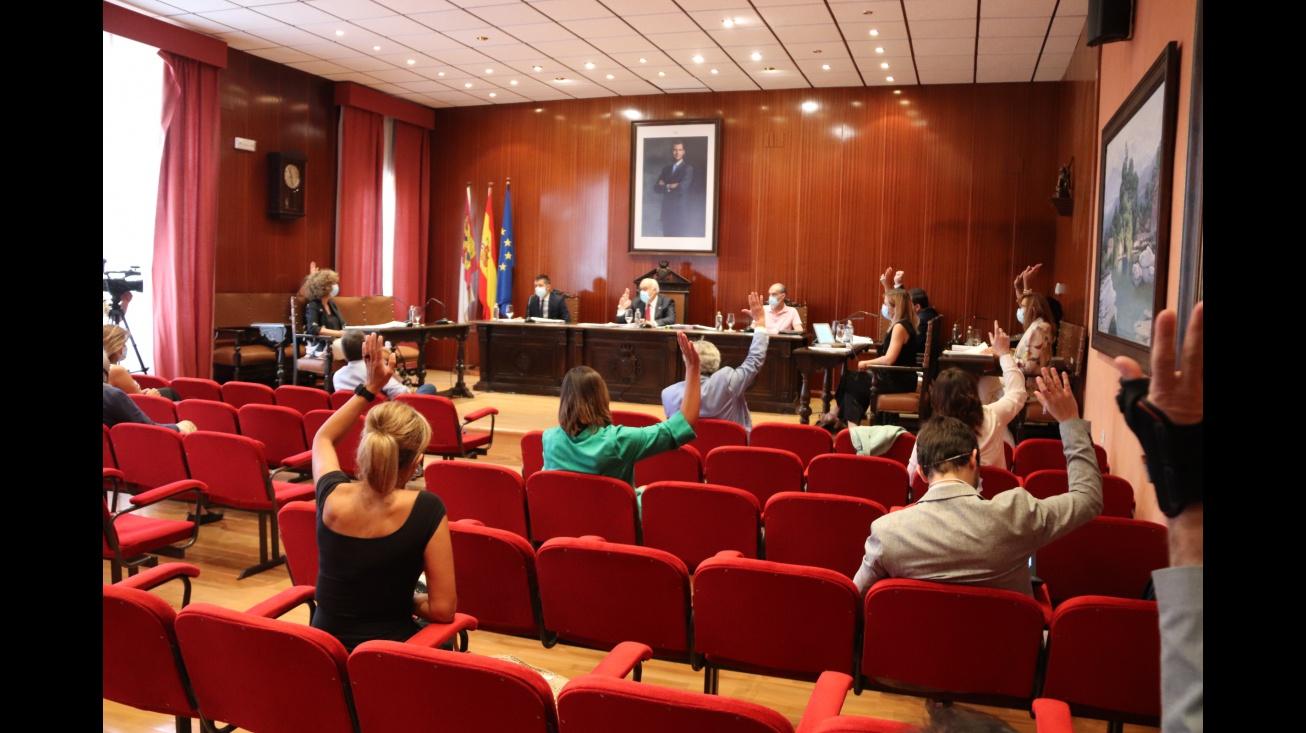 Aprobación de la cuenta general de 2019 con los votos a favor de PSOE y UCIN y la abstención del PP