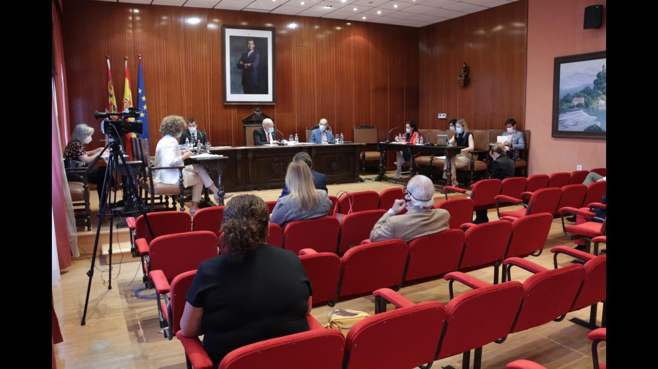 Sesión plenaria del pasado 27 de septiembre