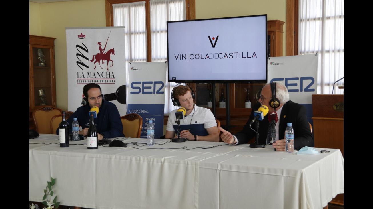 Julián Nieva en el especial 'Hoy por Hoy' desde Vinícola de Castilla